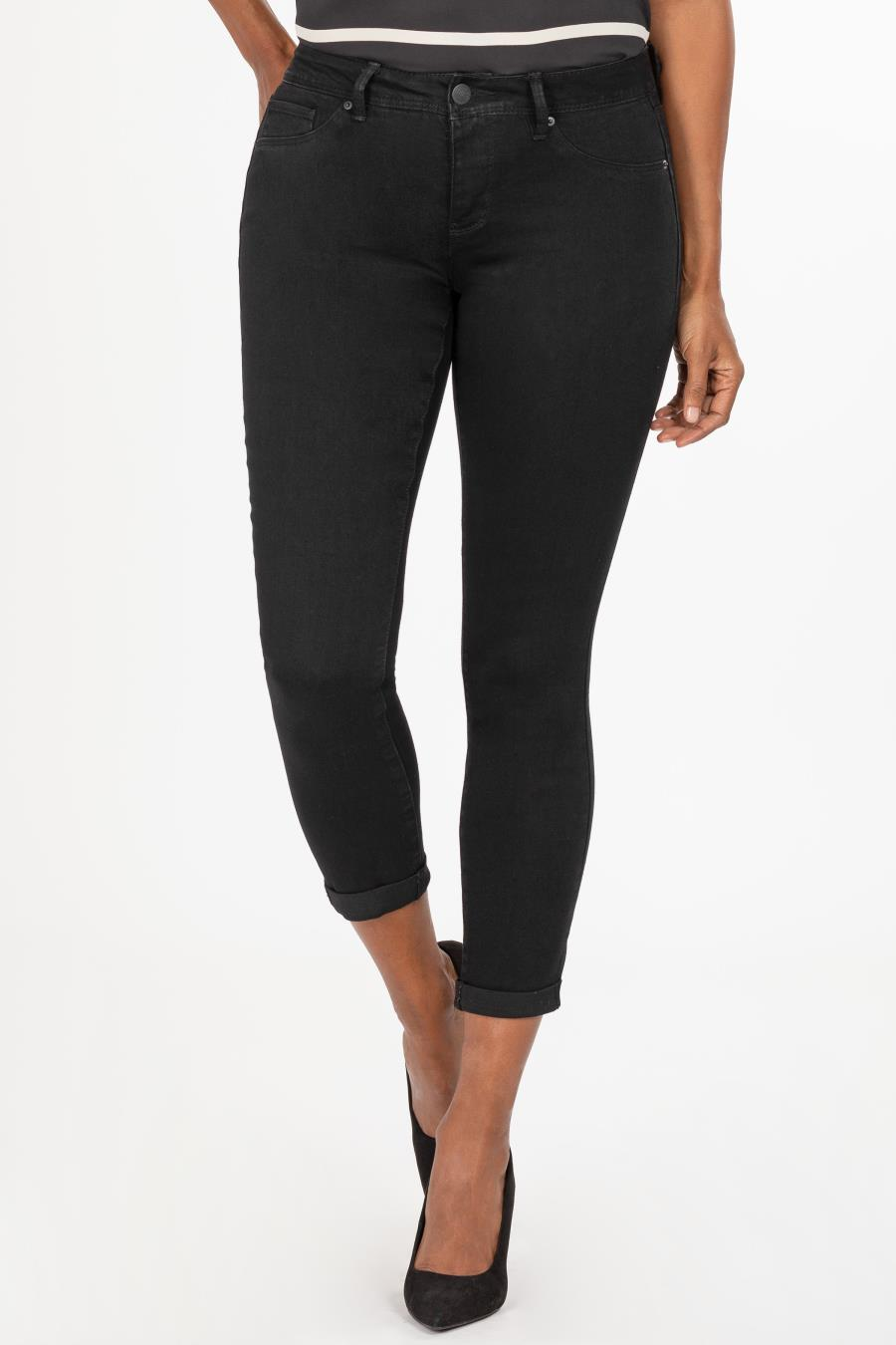 Women Mid-Rise Denim Ankle Jean