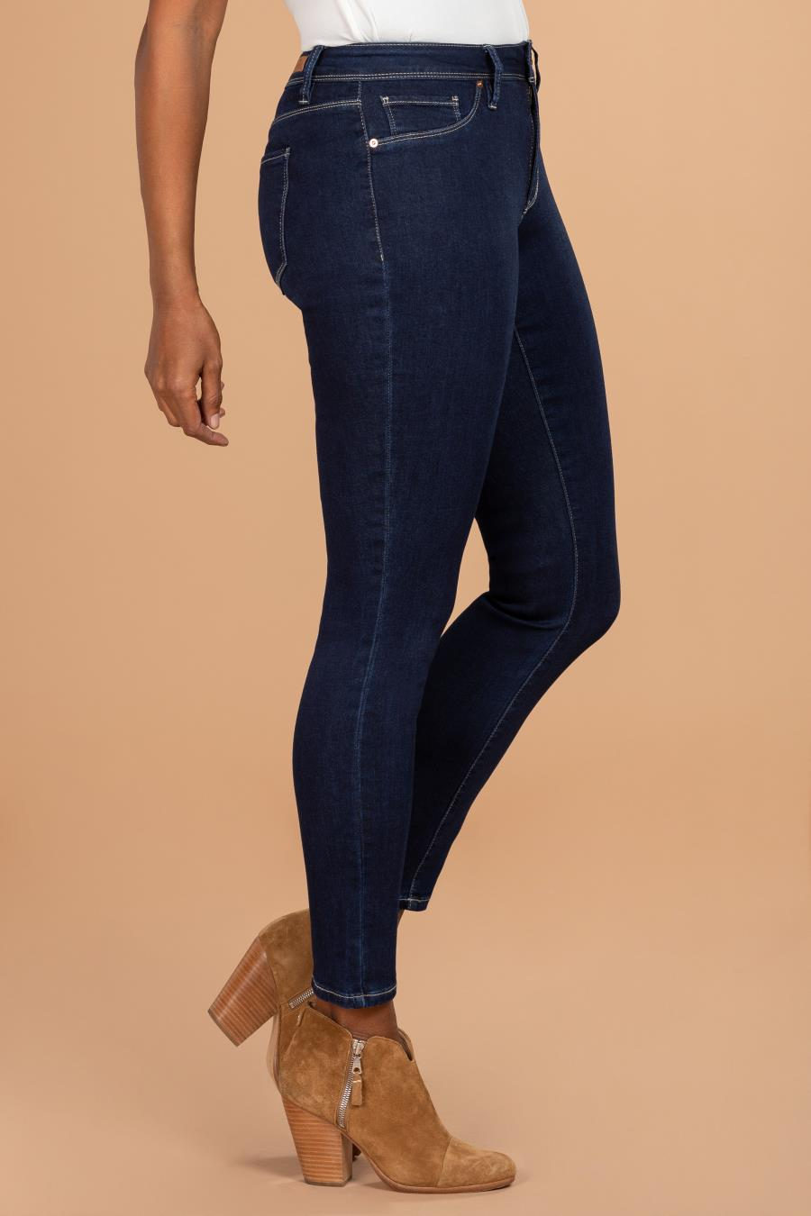 Women Basic High-Rise Skinny Jean