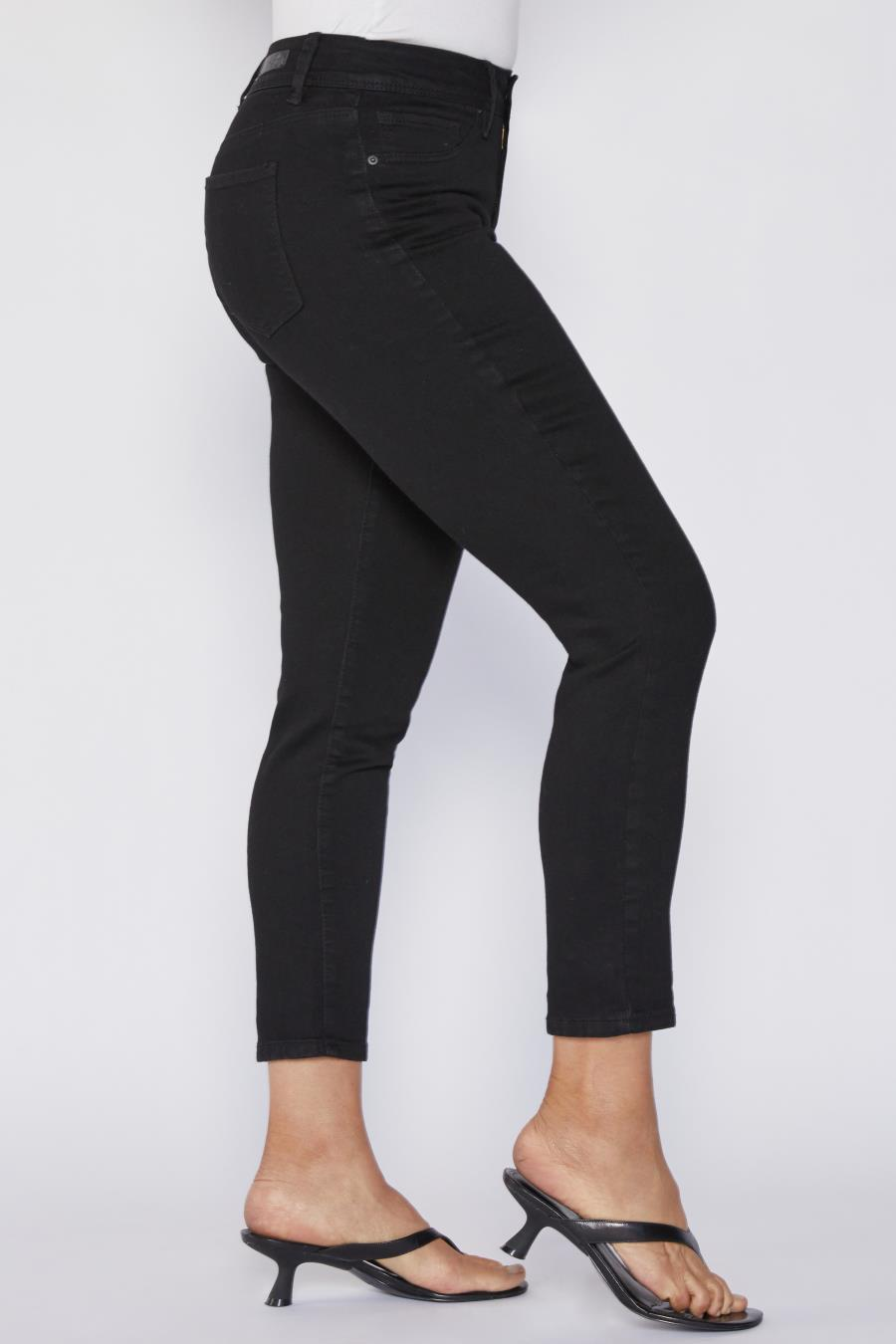 Women Petite Basic High-Rise Skinny Jean