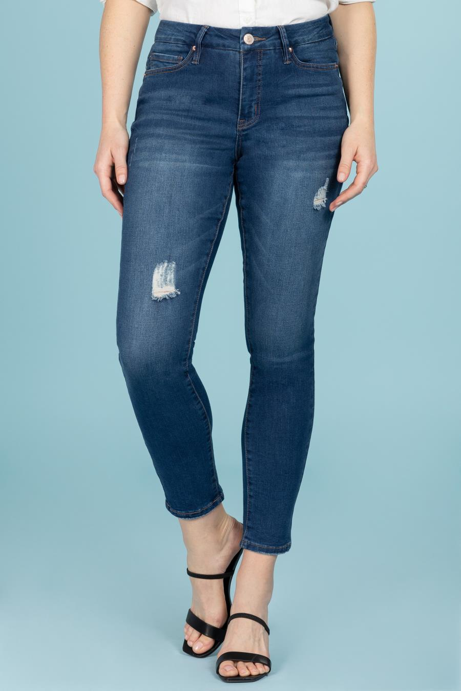Women Curvy Fit High-Rise Skinny Jean