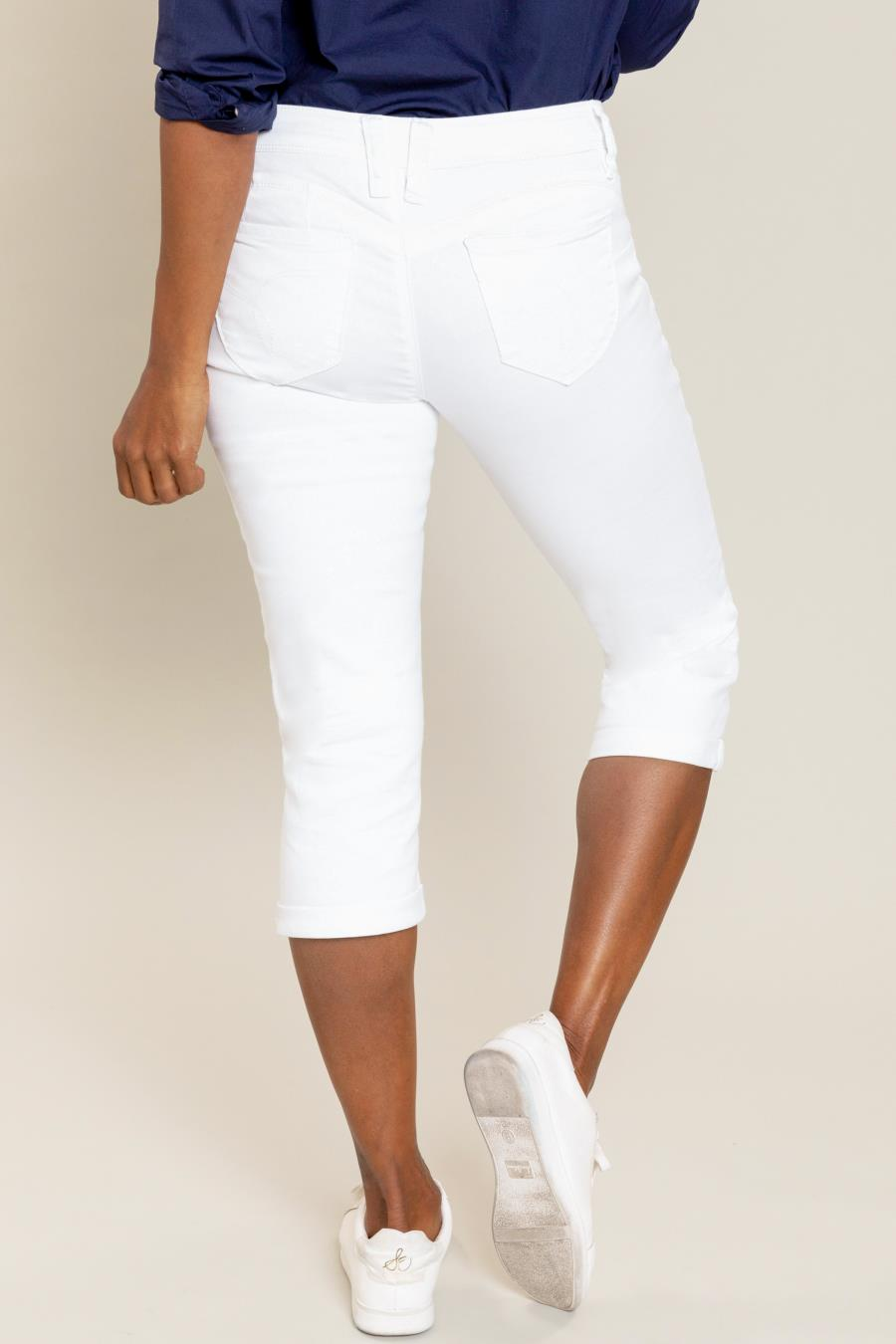 Women WannaBettaButt Spring Capri With Rolled Cuff