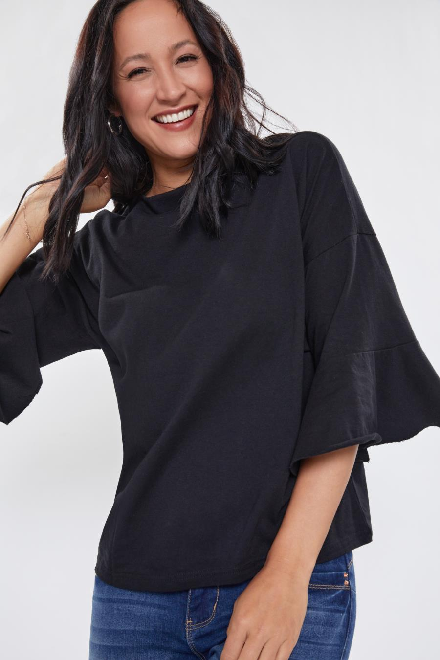 Women Bell Sleeve Tee