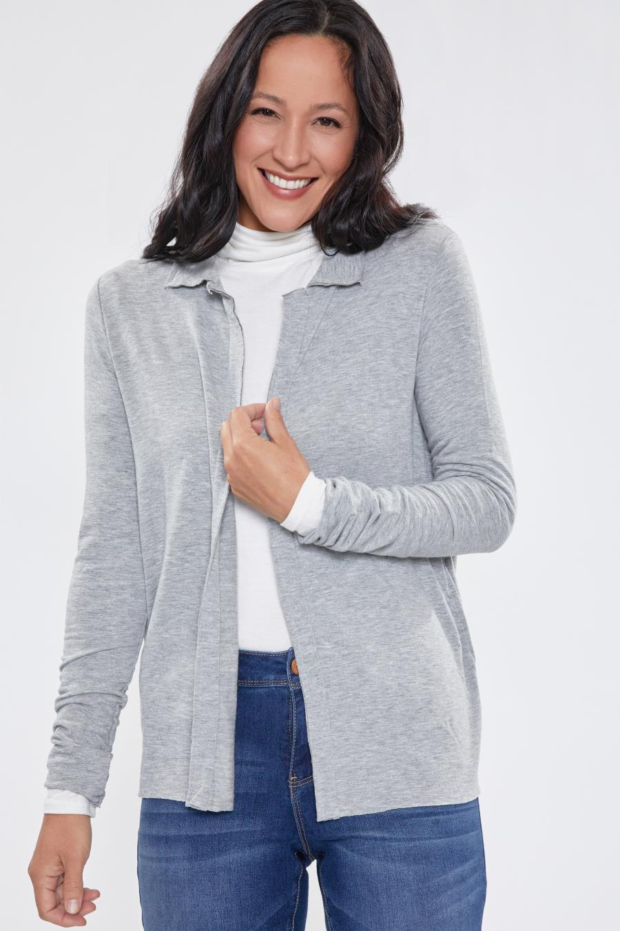 Women Super Soft Cardigan With Pockets