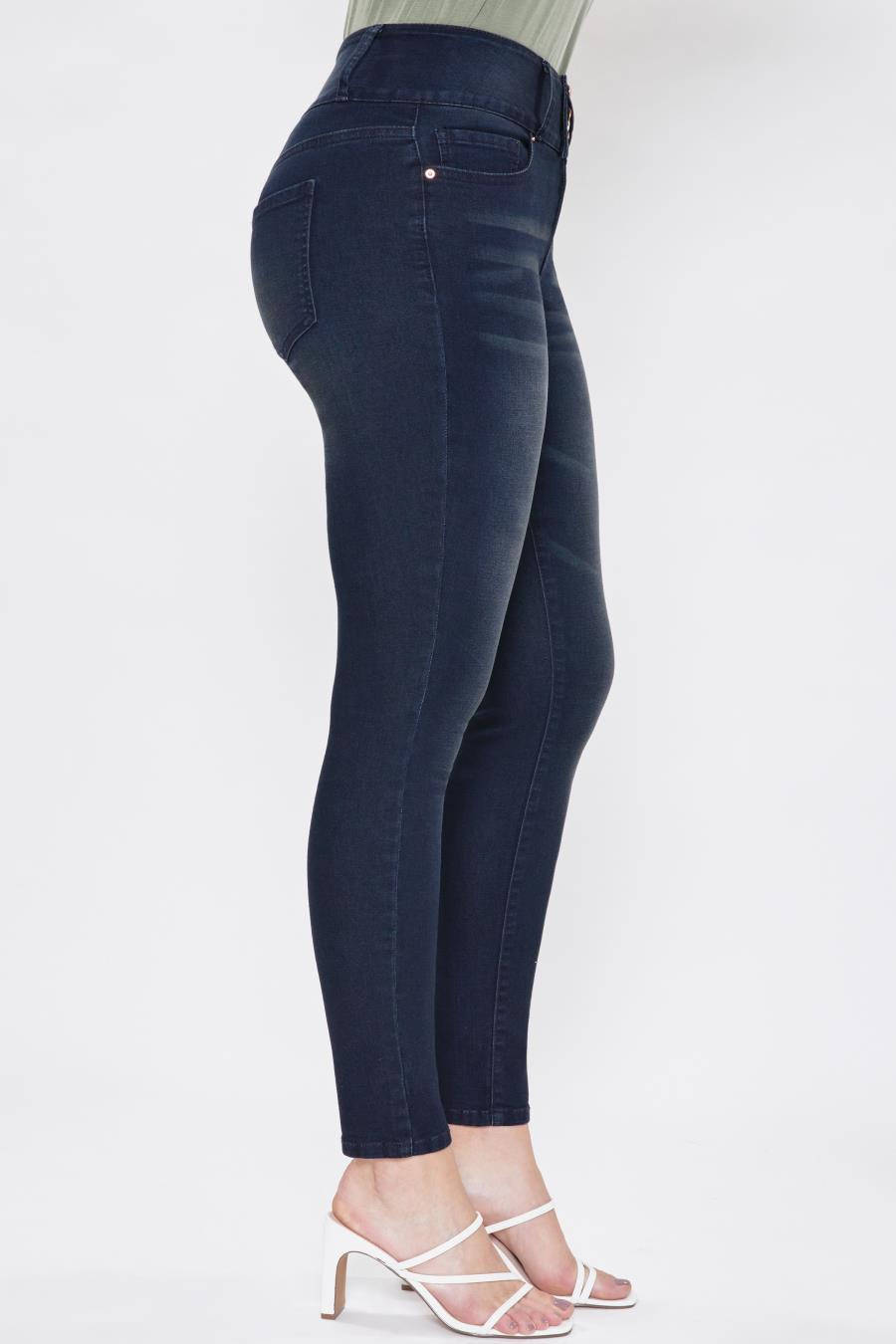 Women 3 Button Signature Slim Stretch High-Rise Skinny Jeans