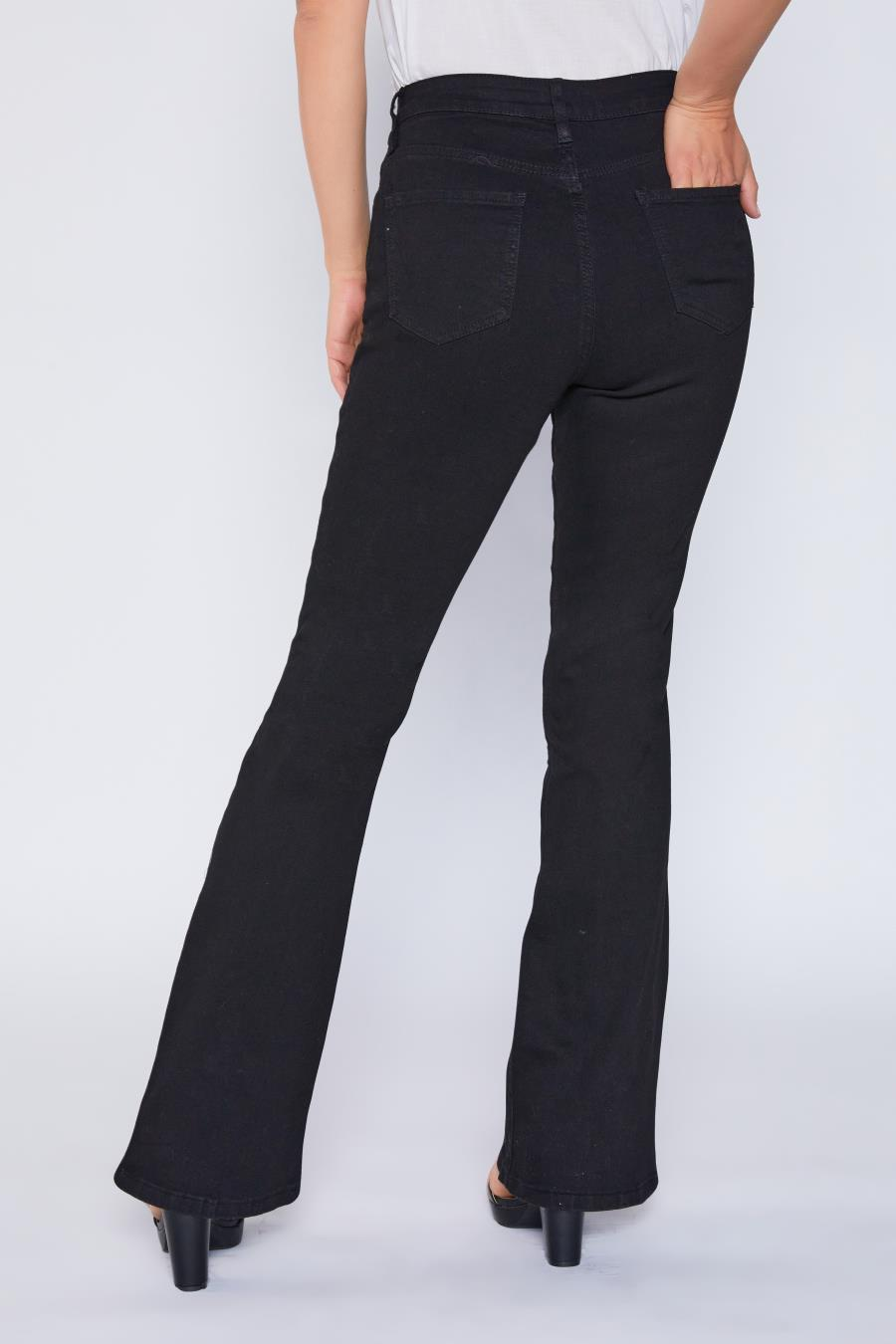 Women Basic High-Rise Flare Jean