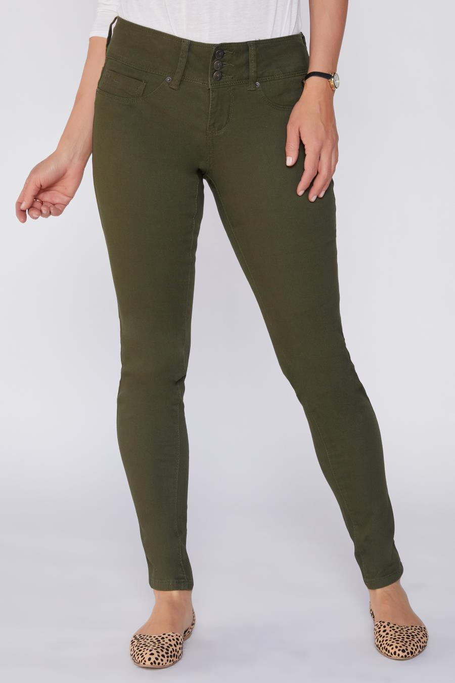 Women Mid-Rise Skinny Jean With Perfect Tummy Control