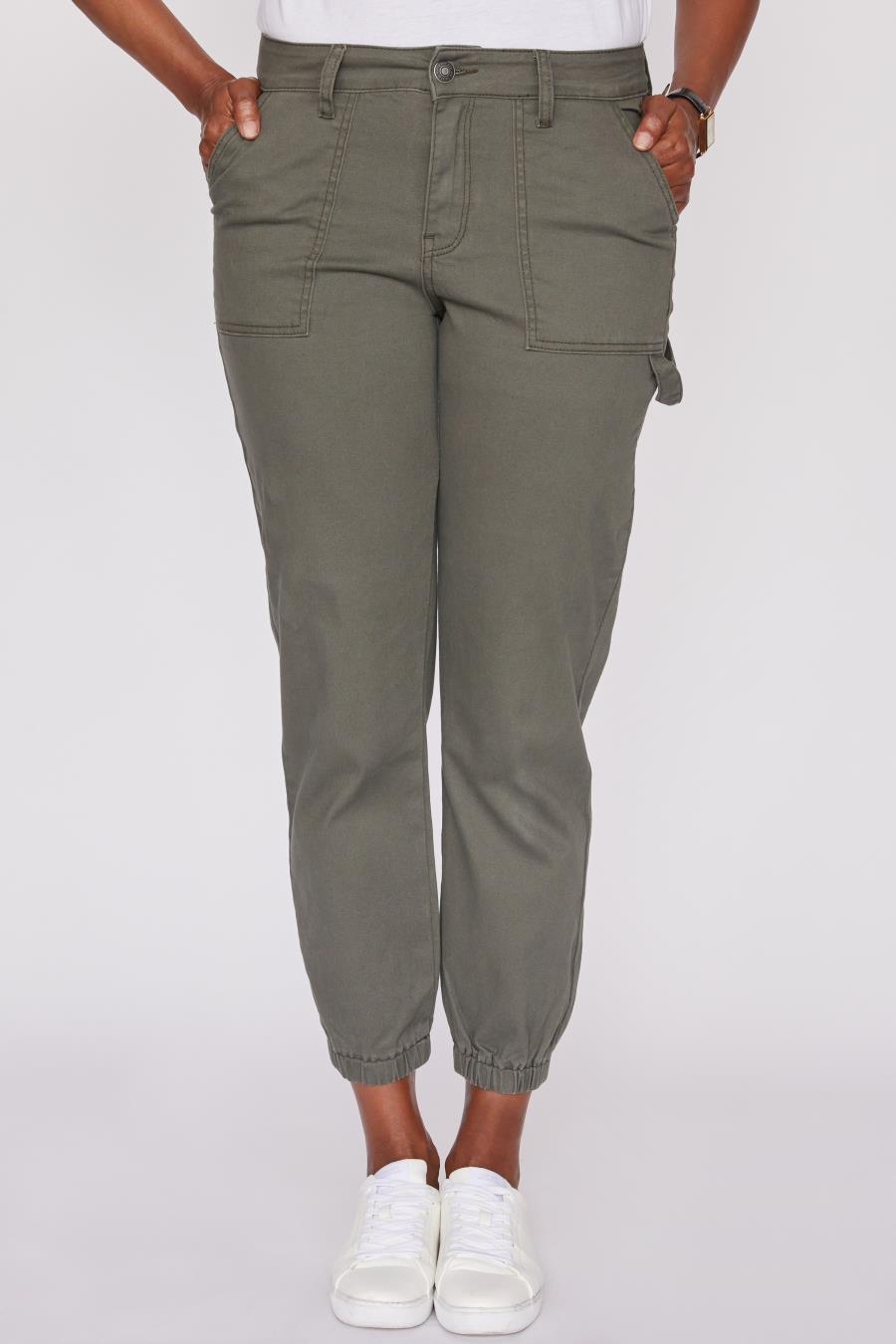 Women Jogger With Elastic Hem