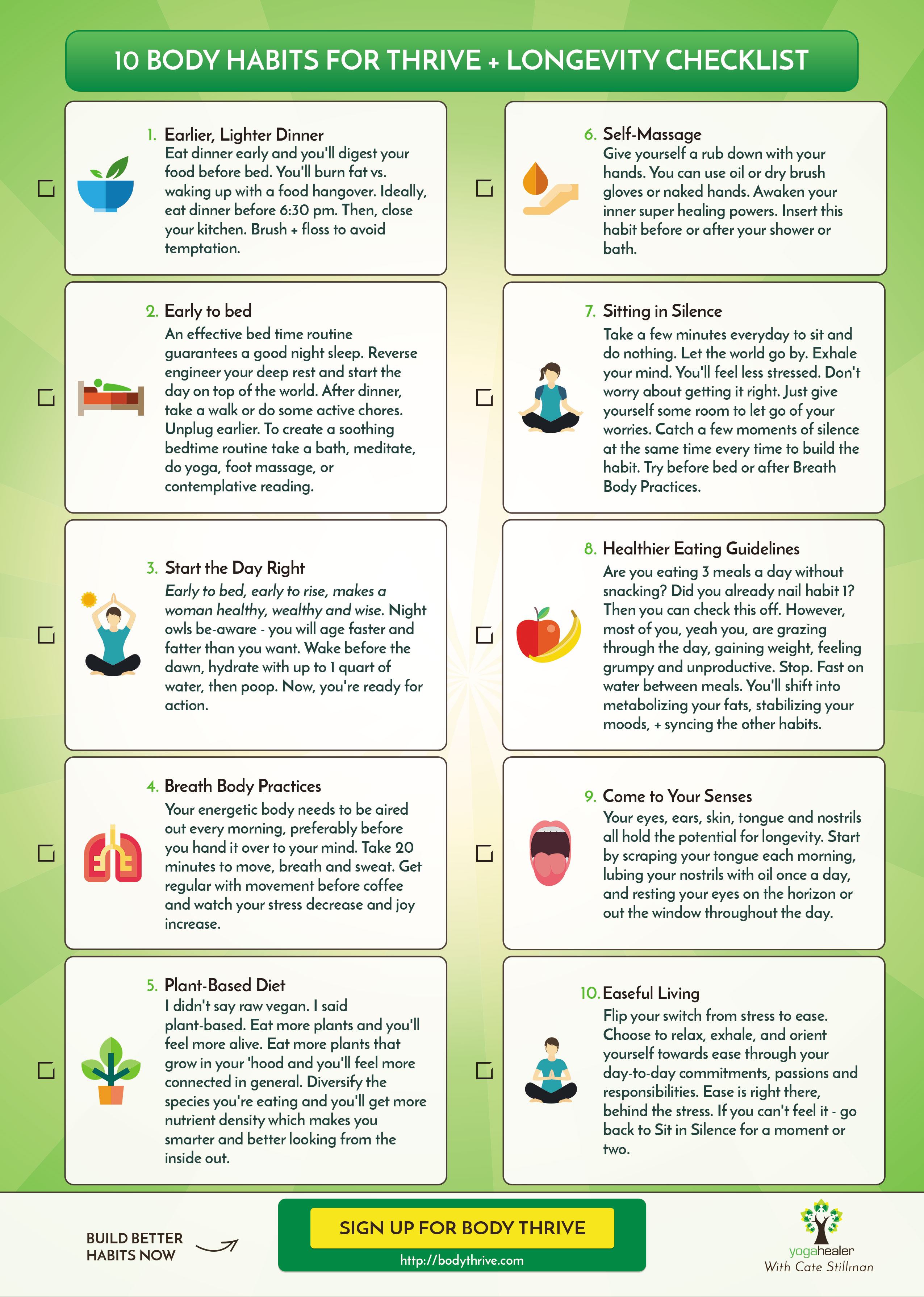 10 must have habits from ayurveda by cate stillman 10 choose easeful living over stress nvjuhfo Choice Image