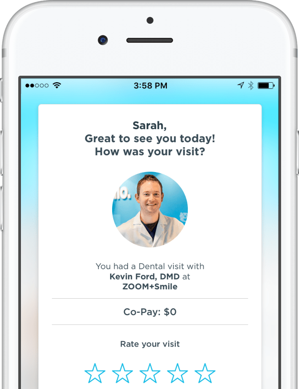 Rate your doctor and let us know about how your visit went.