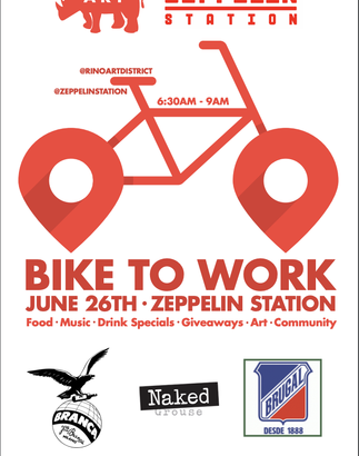 Bike To Work Zeppelin Station June 26