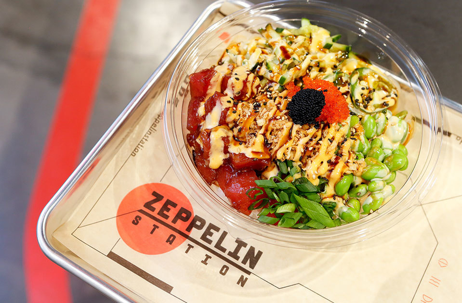 Eat And Drink at Zeppelin Station