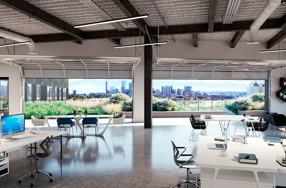 Work Space inside Zeppelin Station