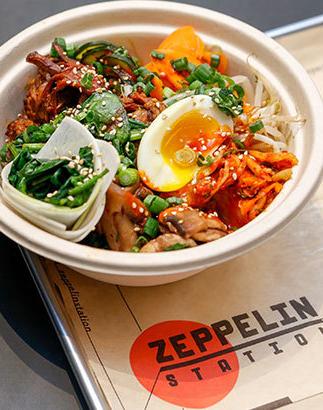 Injoi Korean Kitchen at Zeppelin Station