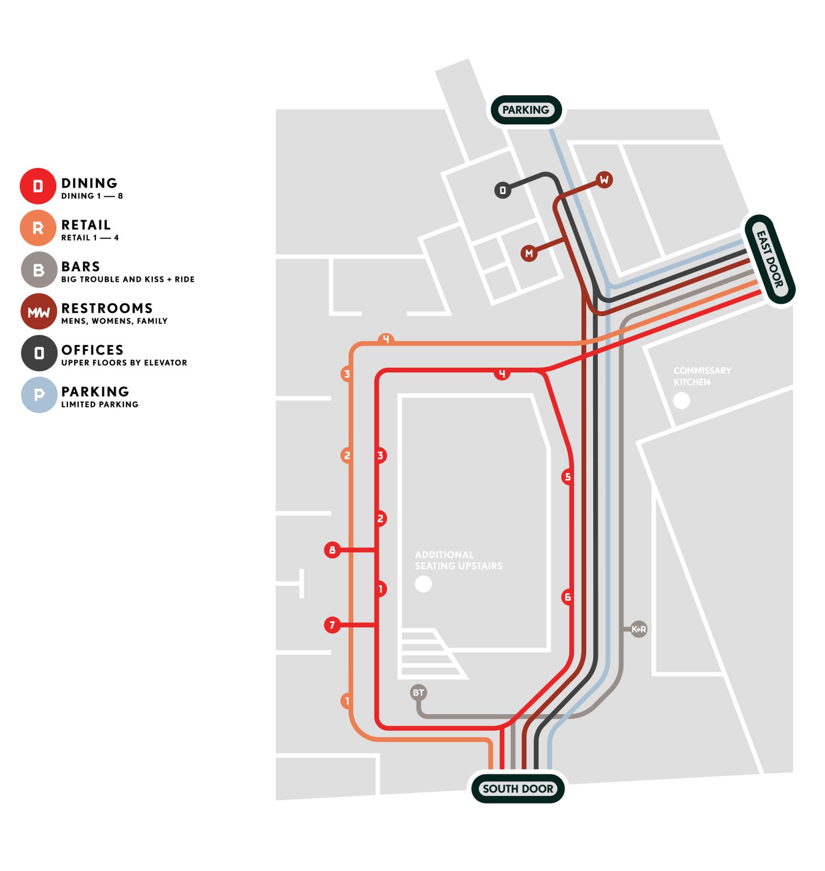 Zeppelin Station Map