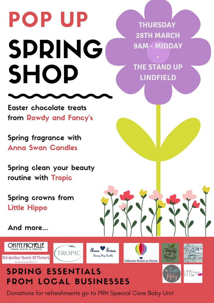 Pop Up Shop Lindfield