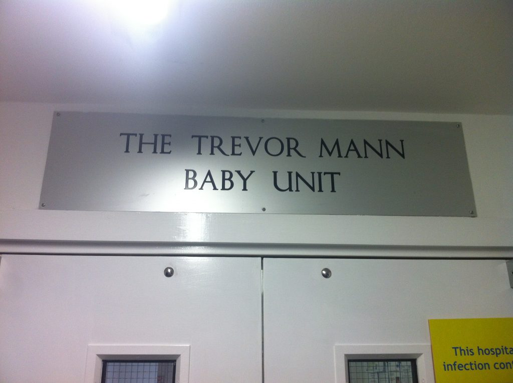 TMBU Door Sign