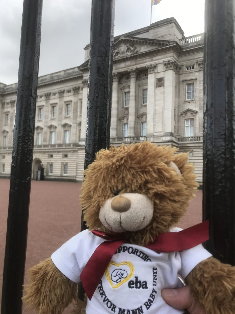 Trevor Ted goes to London!