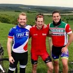 They smashed it! Lands End to John o Groats triplet bike ride.