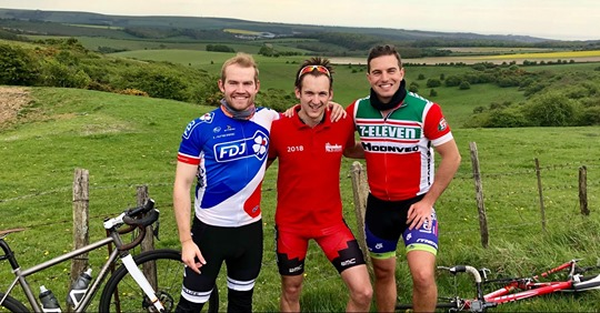 More First Central Fundraising – Lands End to John O'Groats Bike Ride