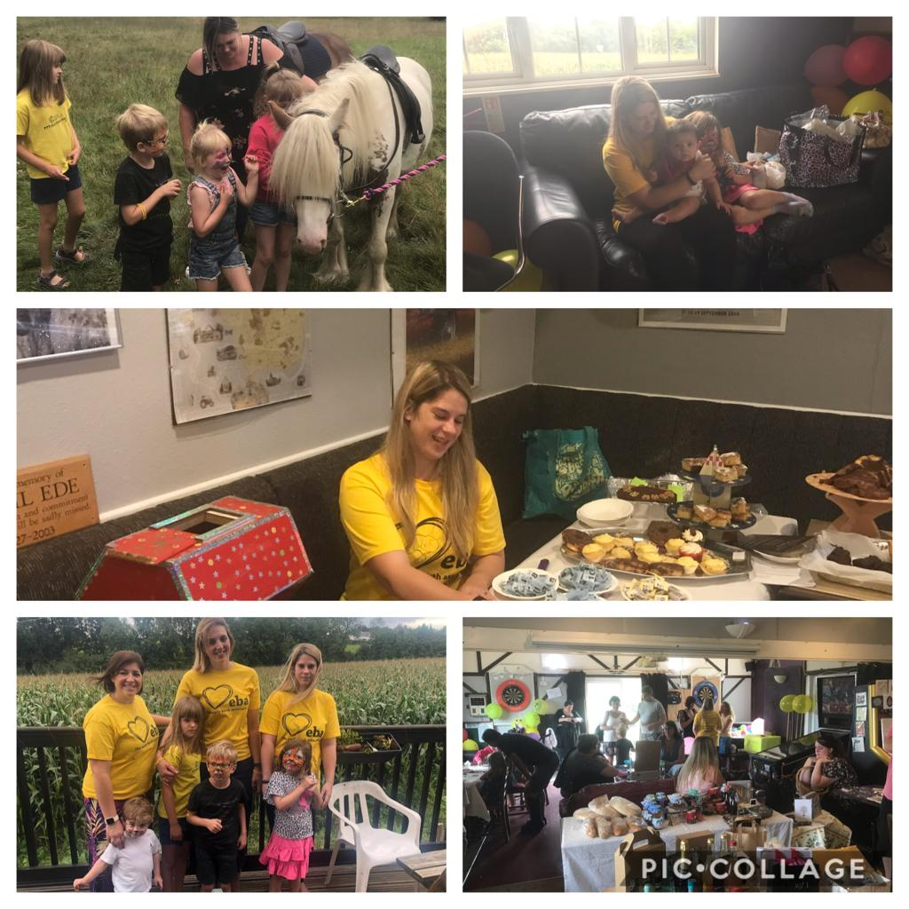 Family Fun Afternoon – a great time had by all and lots of funds raised for The EBA!