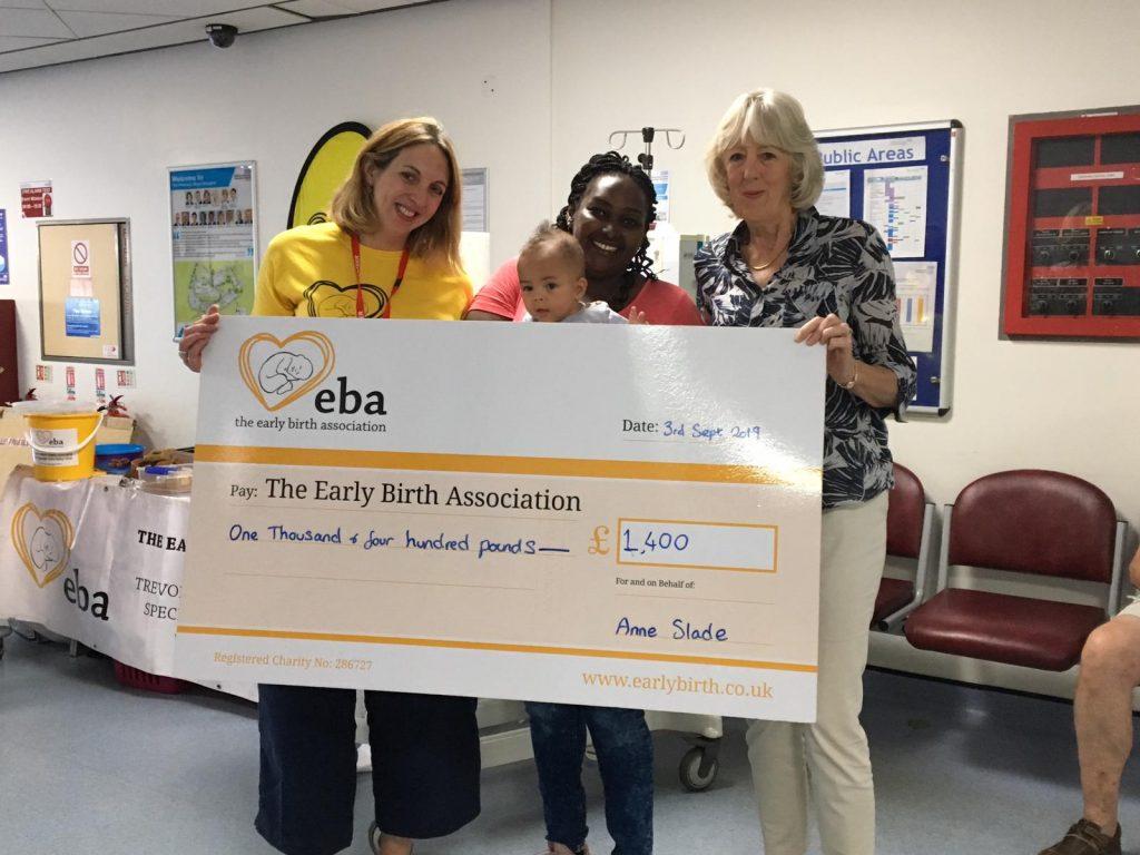 Cream Tea Fundraising Event raises £1,400 for The EBA!