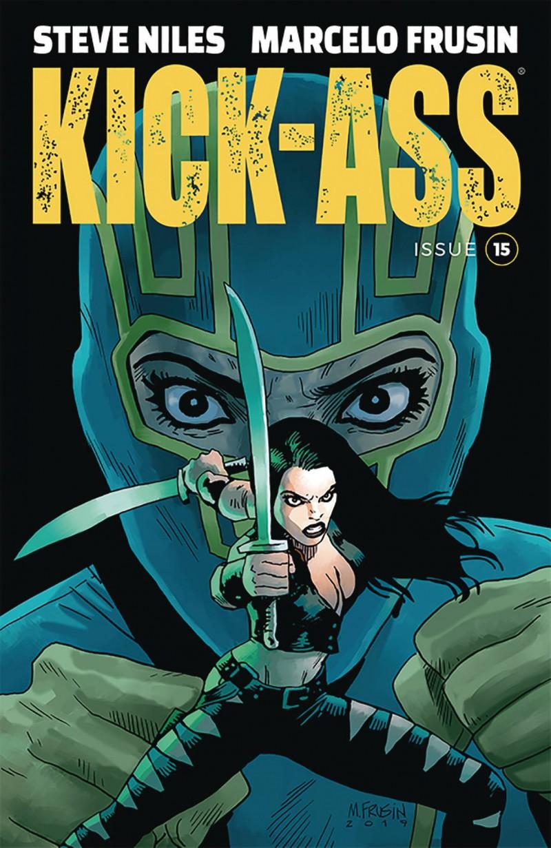 Kick-Ass  #15 CVR A Frusin