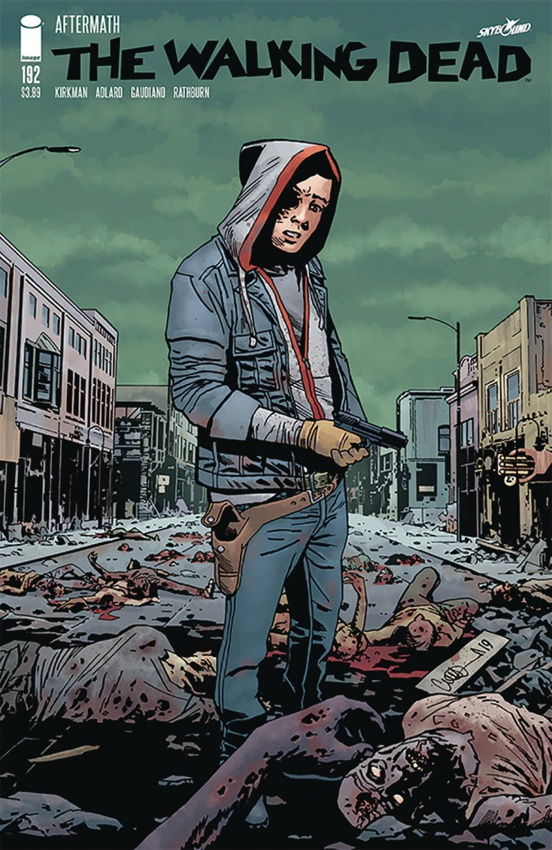 Walking Dead #192 CVR A Adlard and Stewart