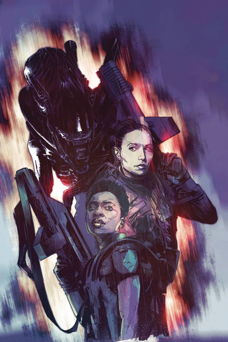 Aliens Rescue #2 CVR B Chater