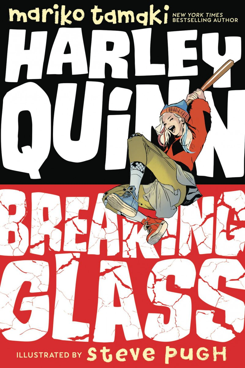 Harley Quinn GN Breaking Glass Dc Ink