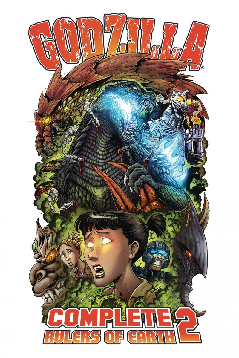 Godzilla TP Rulers of the Earth Complete Collection