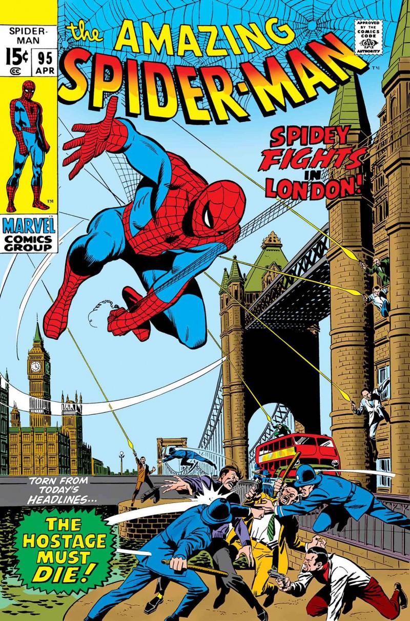 True Believers One-Shot Spider-Man Spidey Fights In London