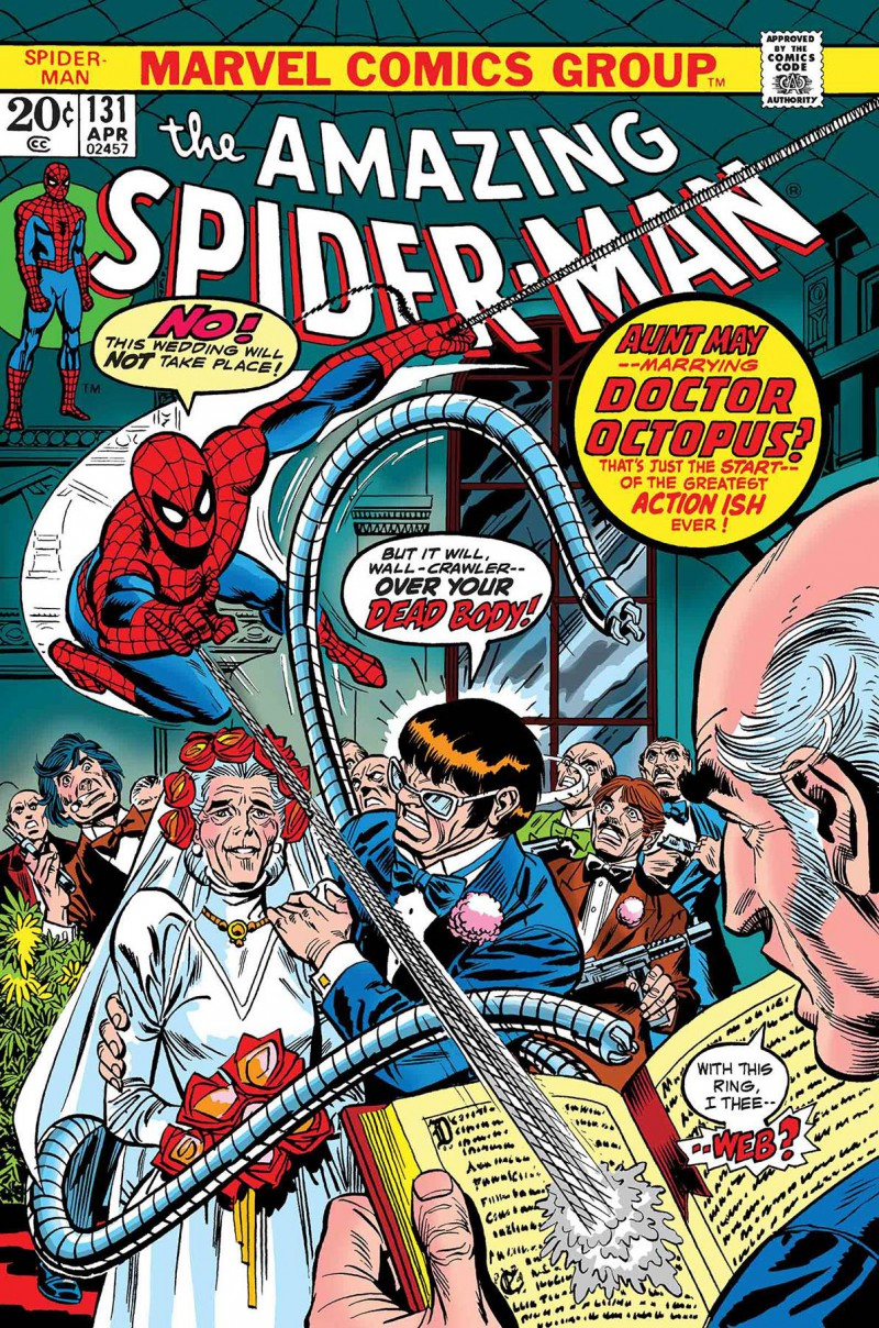 True Believers One-Shot Spider-man Wedding Aunt May And Doc Ock
