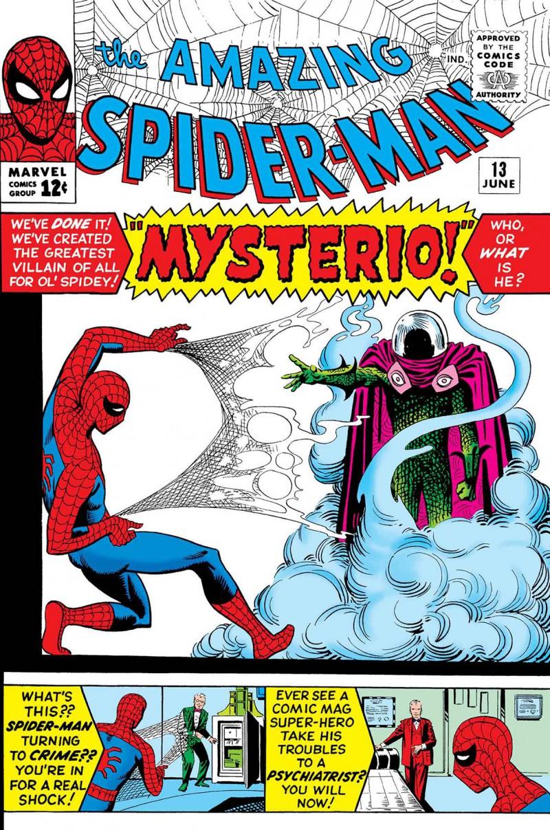True Believers One-Shot Spider-man Spider-man Vs Mysterio