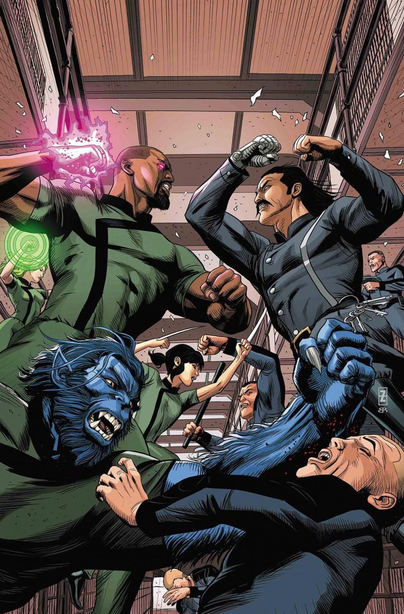 Age of X-Man Prisoner X #4