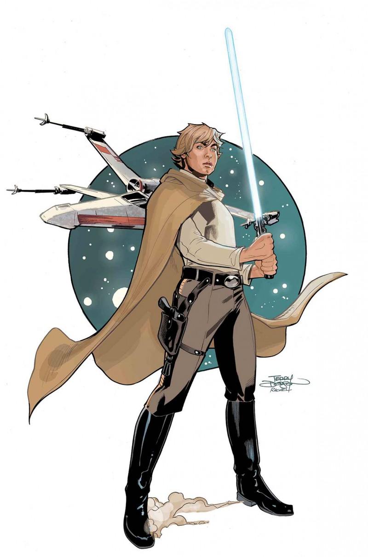 Star Wars Age of Republic One-Shot Luke Skywalker