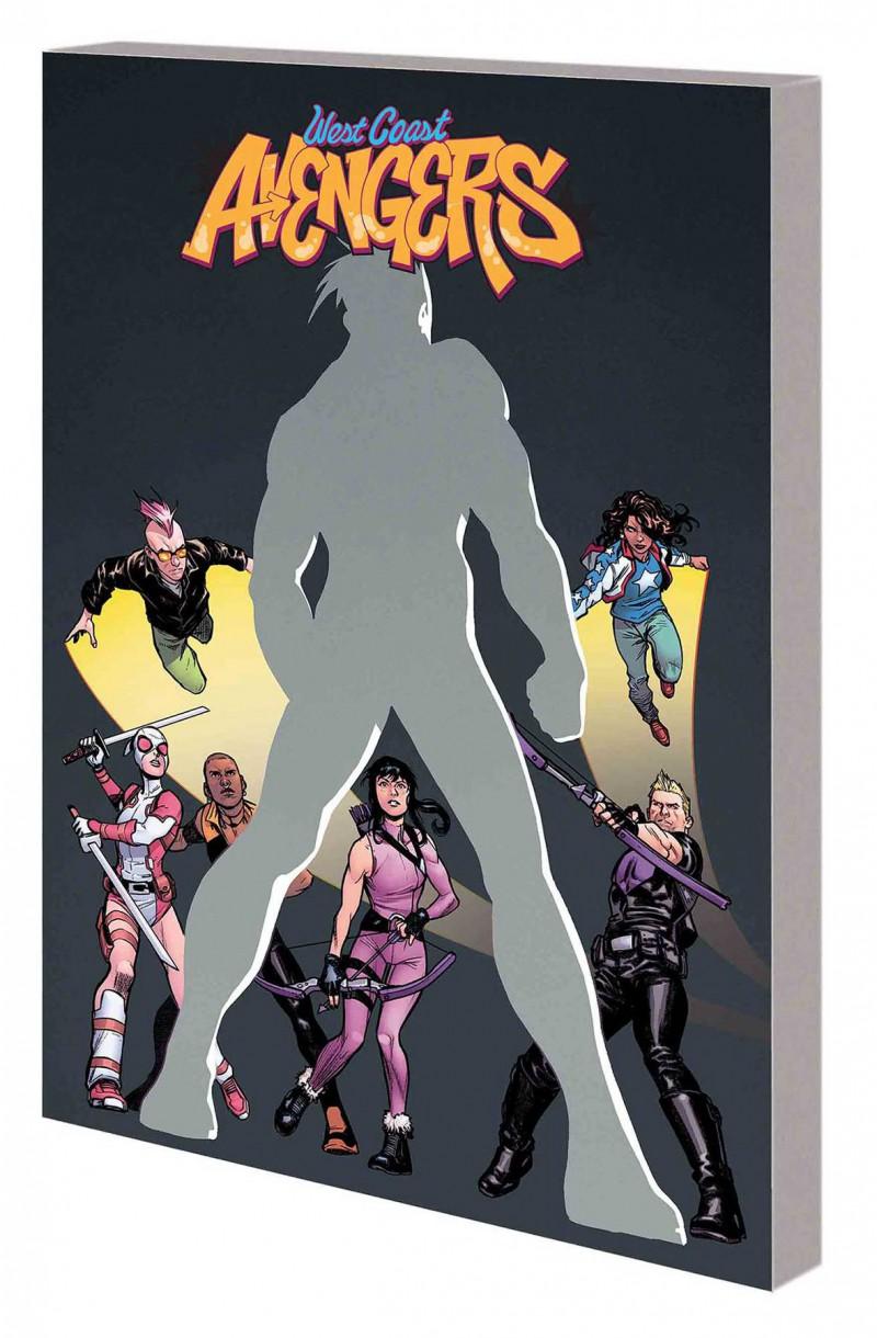 West Coast Avengers TP  City of Evils