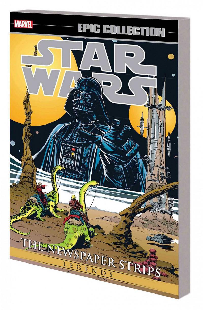 Star Wars TP Legends Epic Collection Newspaper Strips