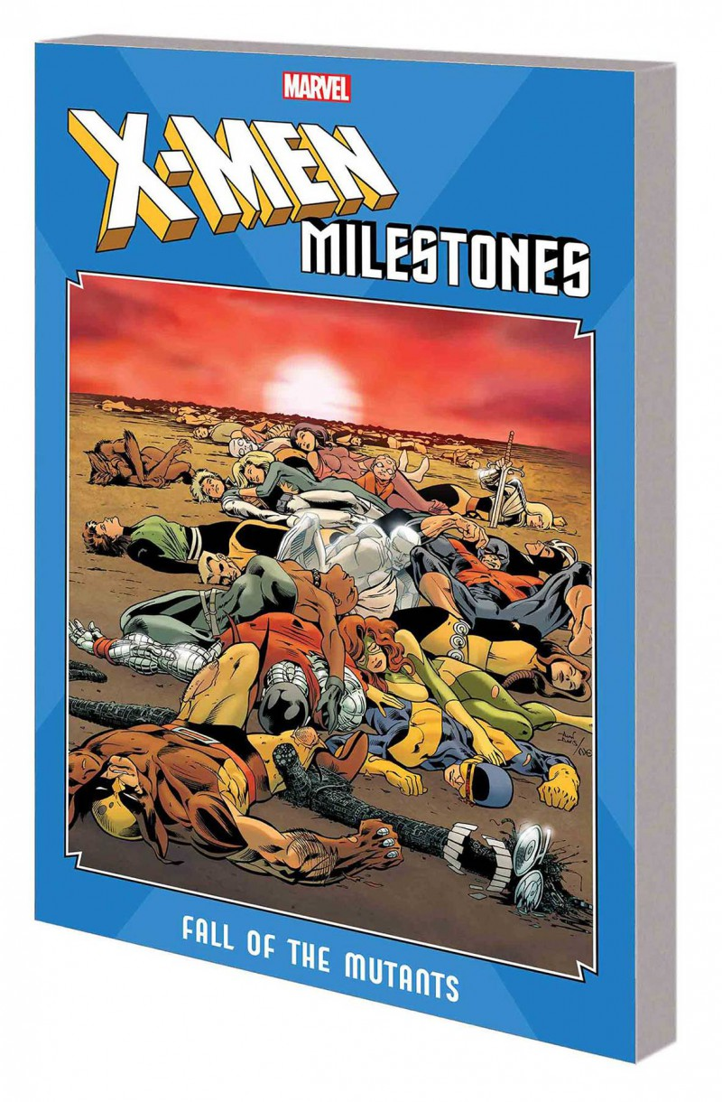 X-Men TP Milestones Fall of Mutants