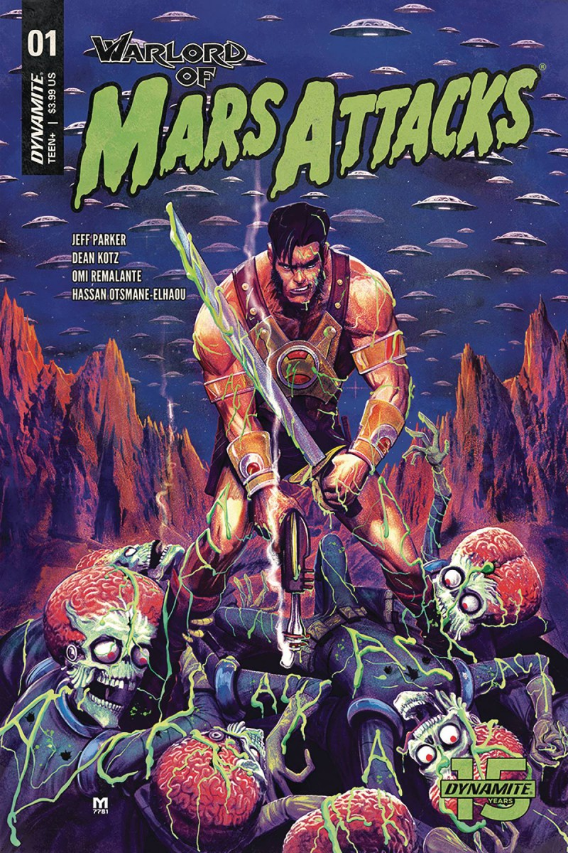 Warlord of Mars Attacks #1 CVR B Dalfonso