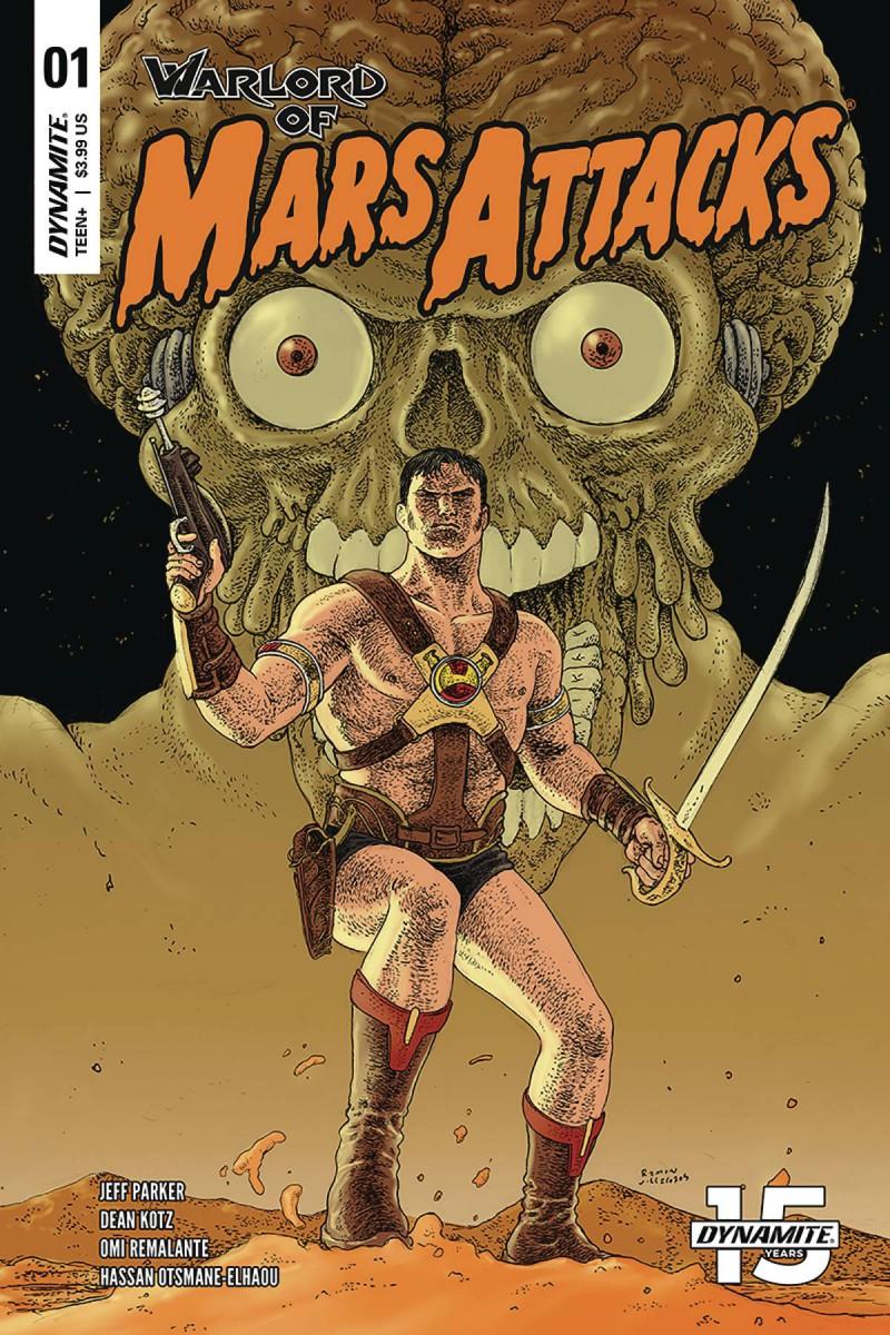 Warlord of Mars Attacks #1 CVR C Villalobos