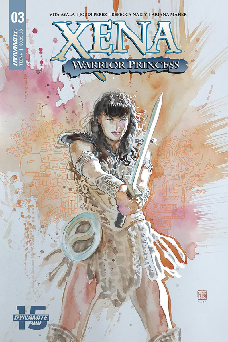 Xena Warrior Princess  #3 CVR A Mack