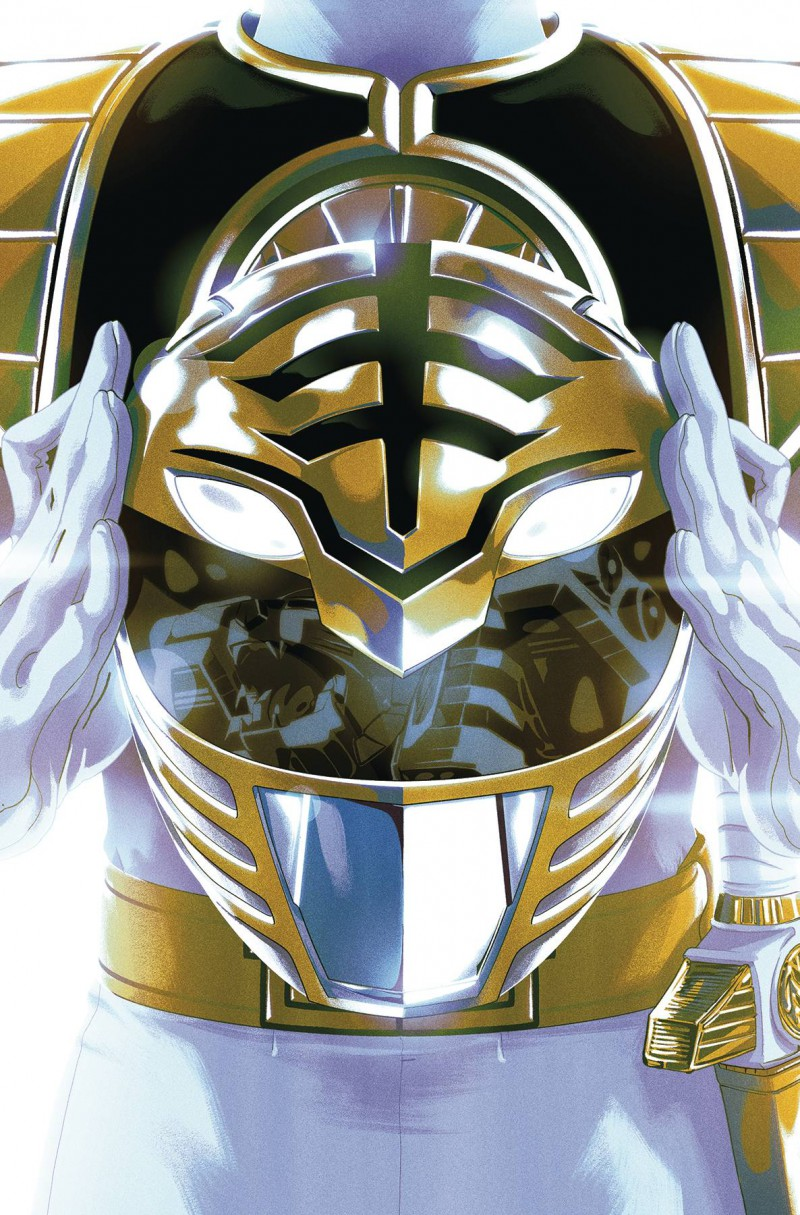 Mighty Morphin Power Rangers #40 CVR B Foil Montes