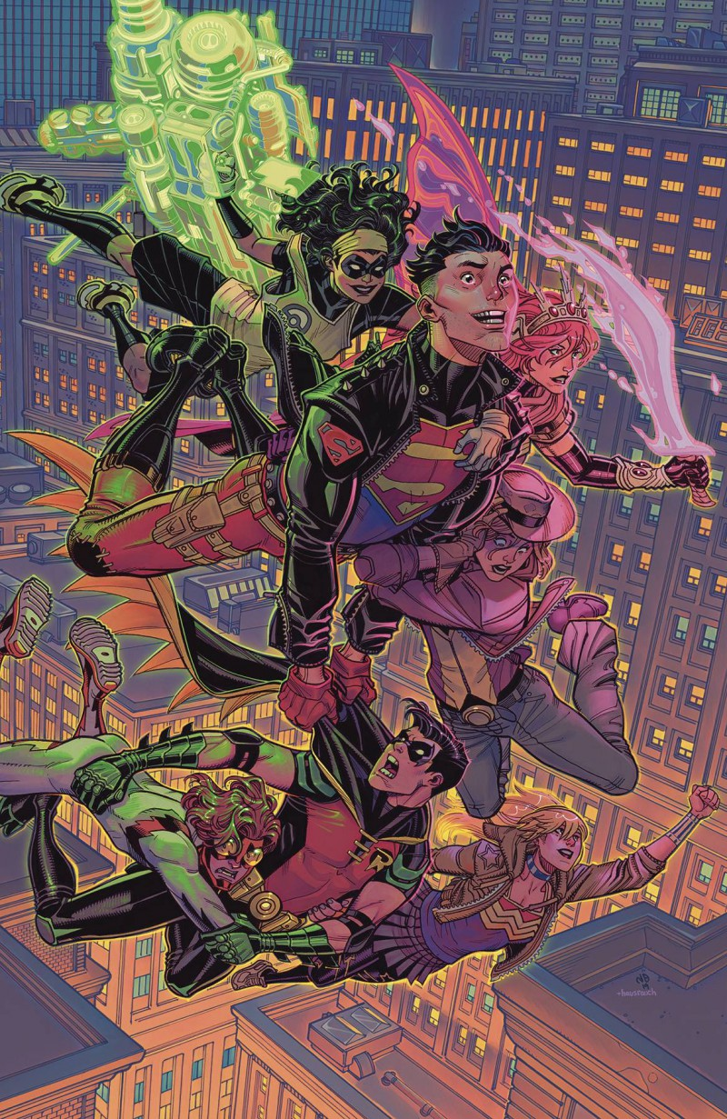 Young Justice  #9 CVR B Card Stock