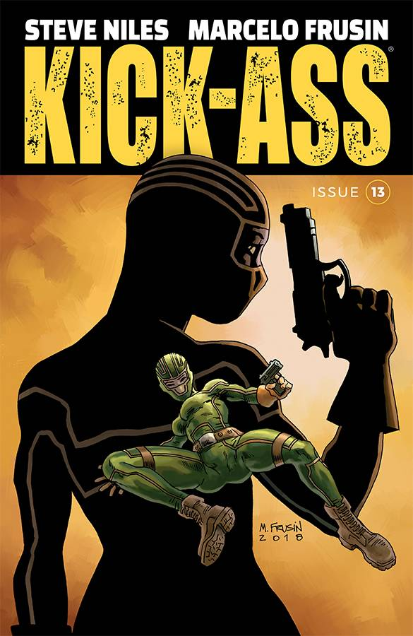 Kick-Ass  #13 CVR A Frusin
