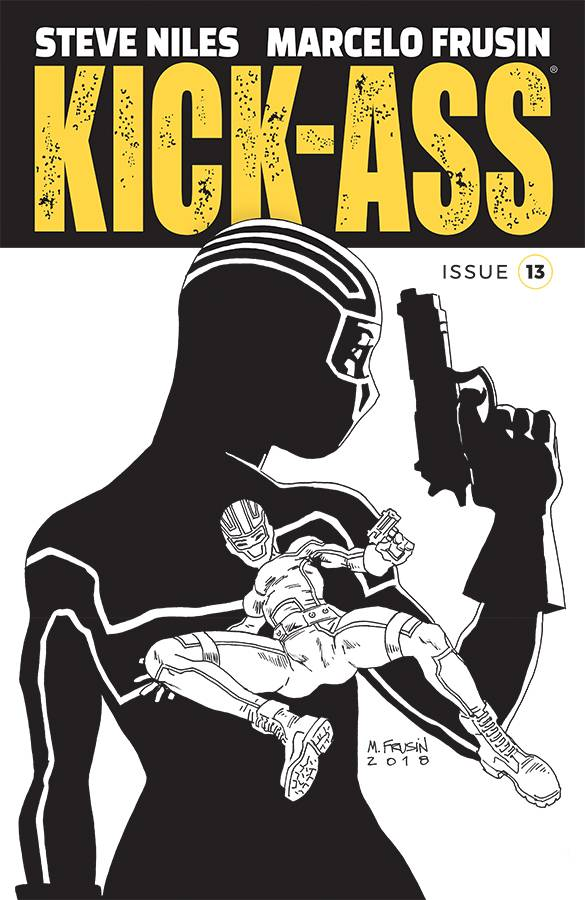 Kick-Ass V4 #13 CVR B Frusin
