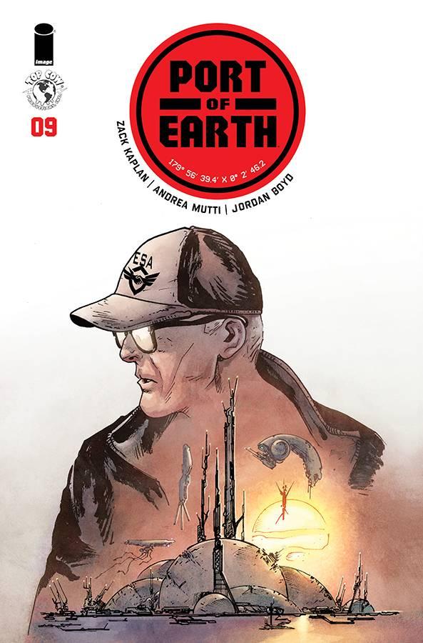 Port of Earth #9 CVR A