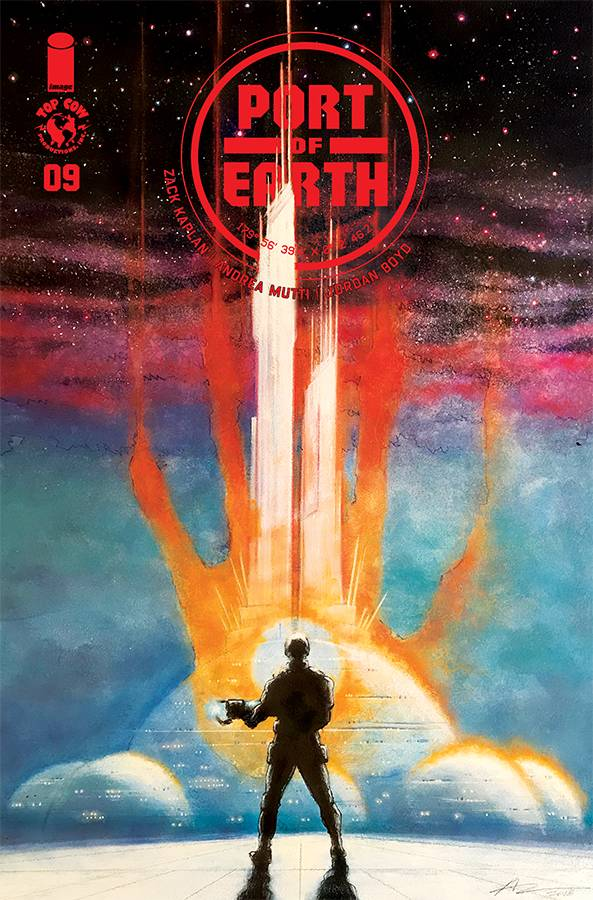 Port of Earth #9 CVR B