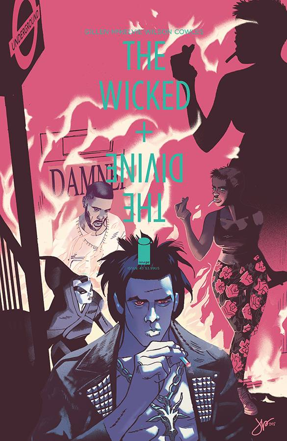 Wicked and Divine #43 CVR B Latour