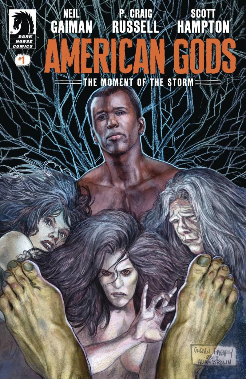 Neil Gaiman American Gods Moment of Storm #1 CVR A Fabry