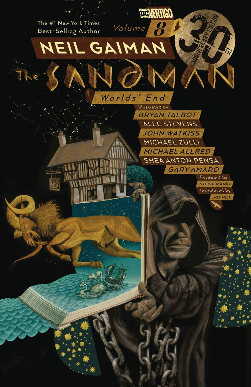 Sandman TP  Worlds End 30th Anniversary Edition